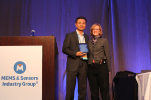 Ben Lee Accepting MEMS/Sensor Executive of the Year Award Photo  jpg